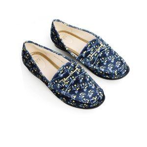 Cabi Carnaby Velvet Loafers sz 7